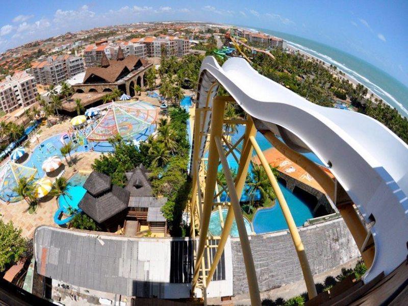Beach Park em Fortaleza - Insano