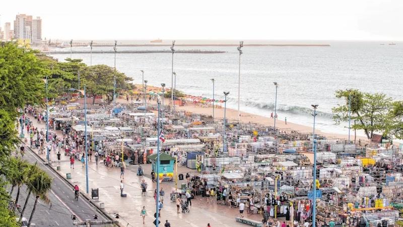 Feirinha Beira-Mar em Fortaleza