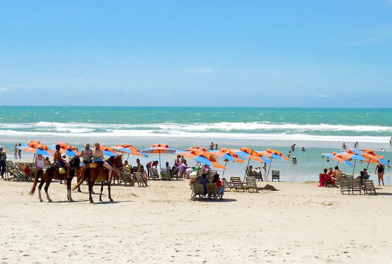 Praia do Futuro em Fortaleza