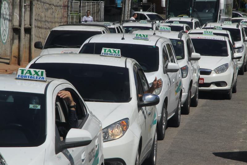 Taxis em Fortaleza