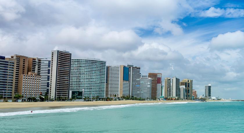 Praia de Meireles em Fortaleza