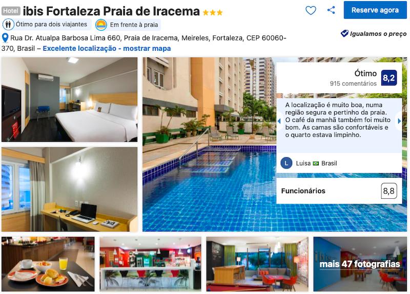 Hotel Ibis Fortaleza Praia de Iracema