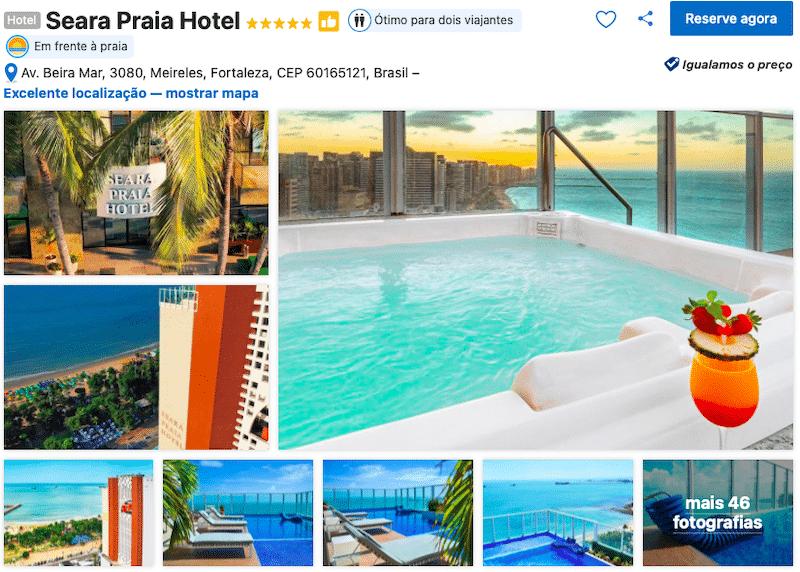 Hotel Seara Praia em Fortaleza