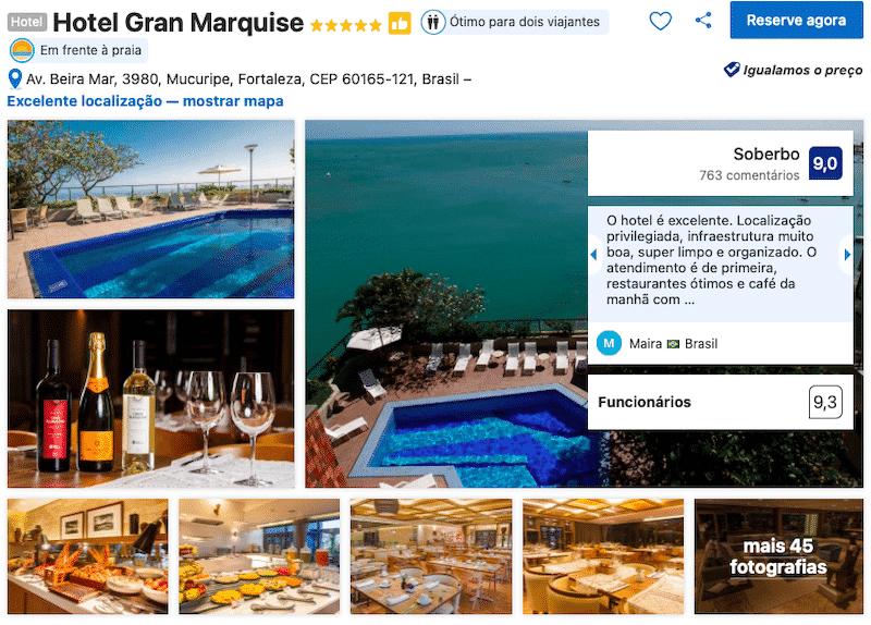 Hotel Gran Marquise em Fortaleza