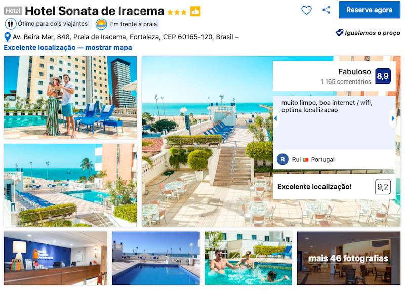 Hotel Sonata de Iracema em Fortaleza