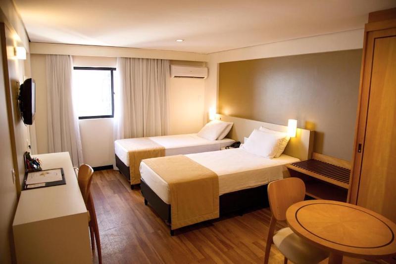 Quarto do hotel Bristol Jangada em Fortaleza