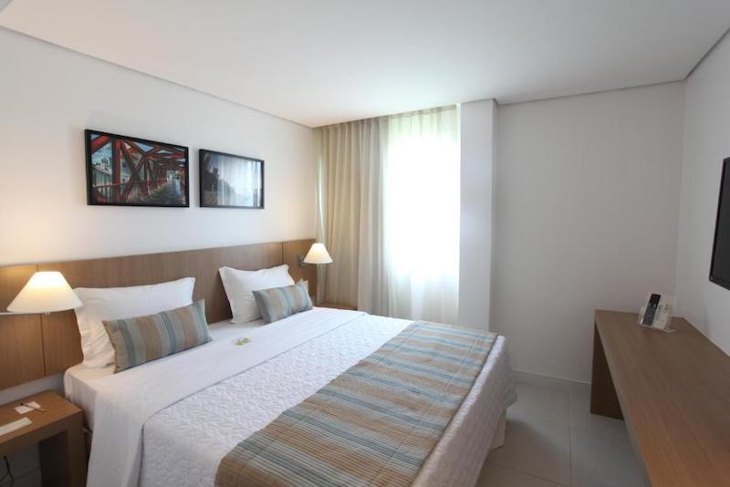 Hotel Crocobeach em Fortaleza - quarto