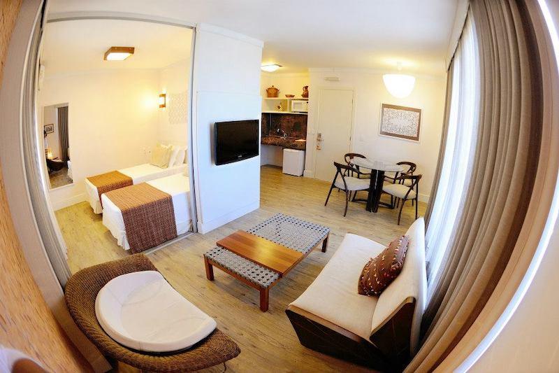 Quarto do Beach Park Resort - Suites