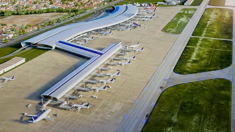 Aeroporto de Fortaleza - vista aérea