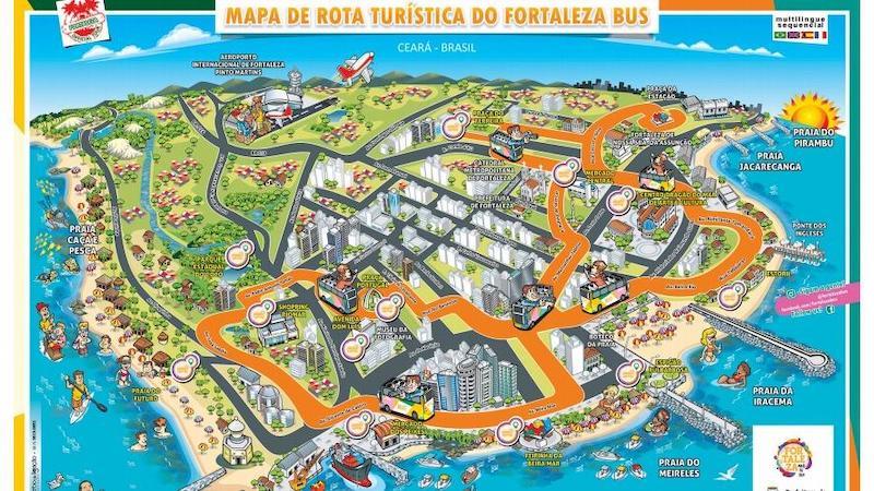 Mapa FortalezaBus